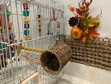 Wooden Hamster Toys, Pet Toys Pack of 3, Climbing Ladder, Swinging & Nesting