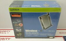 Linksys WMA11B Wireless Digital Media Adapter Brand New / Factory Sealed