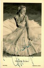 Marianne Simson Ross A 3214/1 signiert, Autogramm