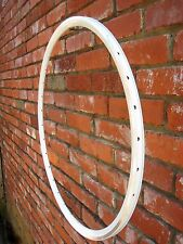 NOS IRO WHITE COLD FUSION TRACK BIKE RIM - LIGHT AERO BICYCLE MSW SHIPS FREE USA