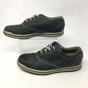 FootJoy Mens 8M Contour Series Casual Lace Up Spikeless Golf Shoes Black 54263