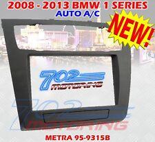 BMW 1 SERIES DOUBLE-DIN KIT  (W/O NAV, W/ AUTO CLIMATE CONTROL) 2008 to 2013