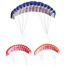 2-Leiner Regenbogen Trainer-Kite Outdoor Strand Sports Weich Fallschirm Kite Neu