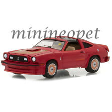 GREENLIGHT 37140 E MECUM AUCTIONS 1978 FORD MUSTANG KING COBRA II 1/64 RED