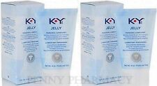K-Y KY Jelly Personal Lubricant 4oz ( 2 pack )  PHARMACY FRESH!