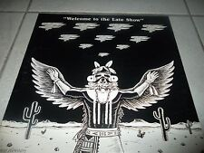THE EAGLES WELCOME TO THE LATE SHOW LP BLUE SPLATTERED VINYL US 1978