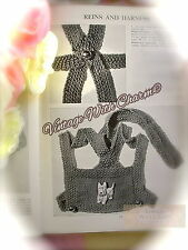 Vintage 1940s Knitting Pattern Baby's Reins & Harness JUST £2.49 +  FREE UK P&P
