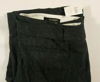 Ann Taylor Loft Marisa Trouser Pants Slate Grey Straight Thru The Hip Size 8 NWT