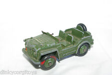 DINKY TOYS 673 AUSTIN CHAMP ARMY JEEP EXCELLENT CONDITION