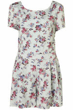 Topshop Short Sleeve Floral Jumpsuits & Playsuits for Women
