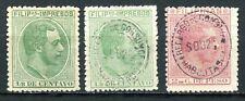 Philippines 1880 &1886, Scott # P1 (2) & 76, Unused/Used, hinged.