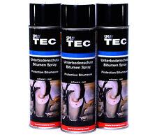 Unterbodenschutz Spray Bitumen 3x500ml von SprayTec von AutoK Antidröhn  E0189