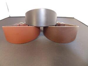 "GC10 Leather Dog Collar Lurcher/Greyhound/Deerhound/Saluki/Borzoi 12.5""-17"""