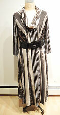 Robbie Bee Plus Size 3/4-Sleeve Belted Sweater Dress Size 2X was $159