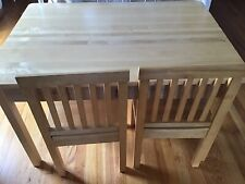 Beautiful Child Table And 2 Chairs