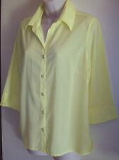 Noni B yellow shirt/blouse Size 10