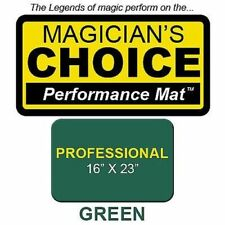 LARGEST Professional Close-Up MAT GREEN 16x23 playing cards deck magic trick