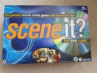 Scene It DVD Movie Trivia Board Game - excellent condition