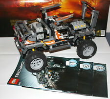Lego Technic 8297  Großer Geländewagen Super Modell 100% komplett