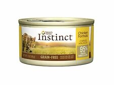 Nature's Variety Instinct Grain-Free Canned Cat Food, Chicken 24 Pack, 3 Oz Cans
