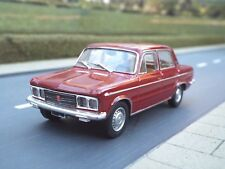 1/43 Scale 1968 Fiat 125 Special (maroon) by Starline - New