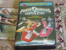 ~FOX KIDS VIDEO~SABAN'S POWER RANGERS IN SPACE~VHS~TESTED VG~1998~80 MIN MOVIE~