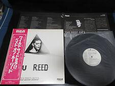Lou Reed Walk on Wild Best Japan Vinyl LP Promo White Label Velvet Underground