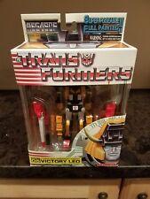 Transformers MegaSCF Cybertron Armament Knight Victory Leo TakaraTomy Japan MISB