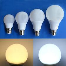 B22 LED Light 3W 5W 7W 9W Globe Bulb Bright Lamp AC12V/DC12-24V Lights