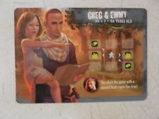 OUTLIVE: Leader Greg & Emmy Promo Card NEW & UNUSED + FREE SHIPPING!!
