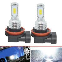H11 H8 H9 LED Headlights Bulbs Kit High Low Beam Bright 35W 4000LM 6000K White