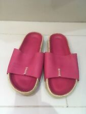 Jigsaw NEW Ingrid stitch detail leather slider slippers size 4UK RRP£98