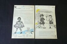 MODES ET TRAVAUX  Françoise Marie -Françoise & Michel 1955-1962  réf 222