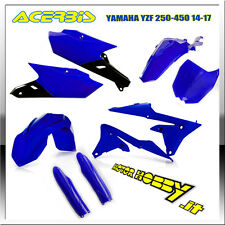 KIT PLASTICHE FULL KIT ACERBIS YAMAHA YZF 250 - 450  2014 - 2017 BLU
