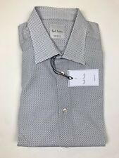 "Paul Smith - Blue/White Square Shirt - 15""/38cm - *NEW WITH TAGS* RRP £145"