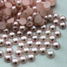 2000x Halbperlen Glitzersteine Strass Steine Perlen selbstklebend Schmucksteine