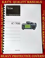 Highest Quality ~  Icom IC-706 Instruction Manual  😊😊C-MY OTHER MANUALS😊😊