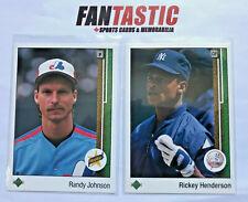 1989 Upper Deck Baseball Base Card YOU PICK #1-800 inc RC etc.
