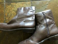 New Eddie Bauer Women's Size 12 Brown Leather Boots