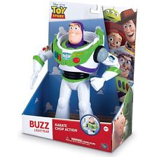 "NEW Disney Toy Story 12"" Buzz Lightyear Karate Chop Posable Action Figure"