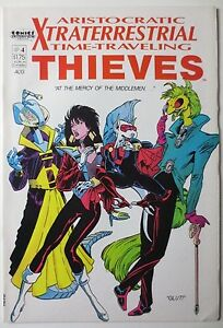 Aristocratic Xtraterrestrial Time-Travelling Thieves #4 Aug 1987, Comics (C3621)