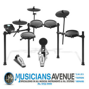 Alesis Nitro Mesh Kit 8 Piece- Free Sticks and High Quality Headphones