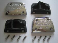 Set BMW Chrom Behälter Deckel K1200LT K1200RS chromed brake clutch fluid cover