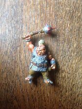 Warhammer. Classic Ogre With Mace. Ogre Kingdoms Maneater. Metal.