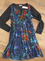 Joe Browns Chiffon Dress Size 42 - 50 long sleeve (782) soft falling NEW