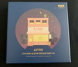 ASTRO 4th Mini Álbum |DREAM PART. 01 - NIGHT VER.| Segunda Mano