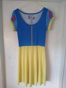 Disney Snow White Costume/Cosplay Skater Dress Juniors XS/S