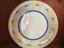 "Pfaltzgraff  Summer Breeze Luncheon Plate 9.5"" salad bread dessert snack"