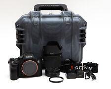 Sony Alpha A7 III A7III Mirrorless Digital Camera + 28-70mm OSS Lens 1K Clicks!