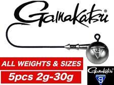 Gamakatsu Classic jig heads 5pcs lure drop shot cannibal jigging pike zed perch